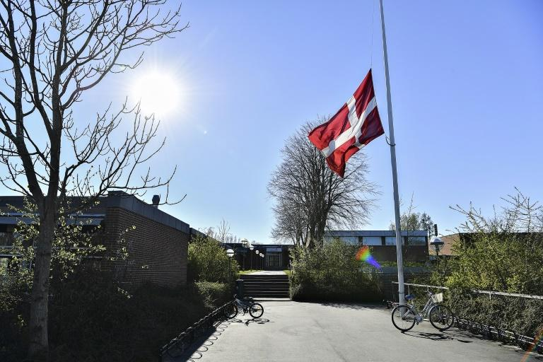 Flags flew at half-mast at the children's school