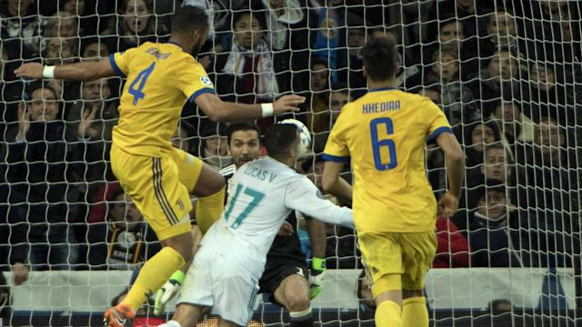 Should Los Blancos have been awarded a last-gasp penalty against Juventus? Not according to the Argentina legend