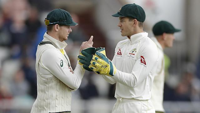 "Helping or undermining? Steve Smith has had his say on claims he was ""white-anting"" Australia captain Tim Paine."