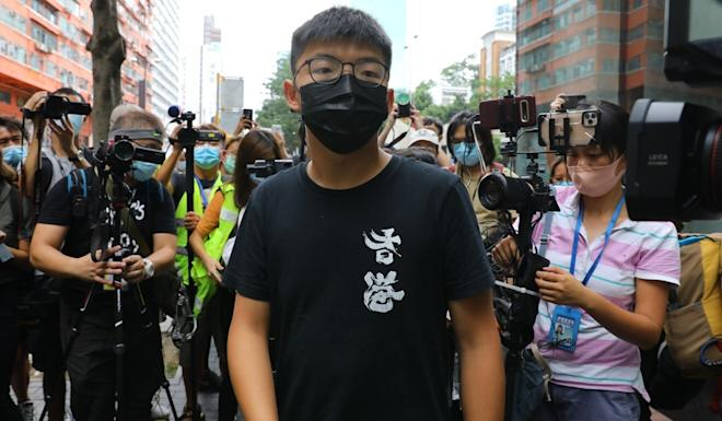 Activist Joshua Wong hailed the State Department's decision. Photo: Dickson Lee