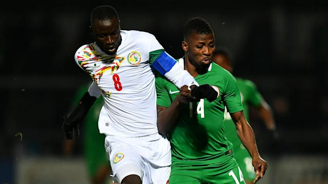 Nigeria left it late before snatching a share of the spoils against Senegal in Barnet, where Kelechi Iheanacho levelled from the spot.