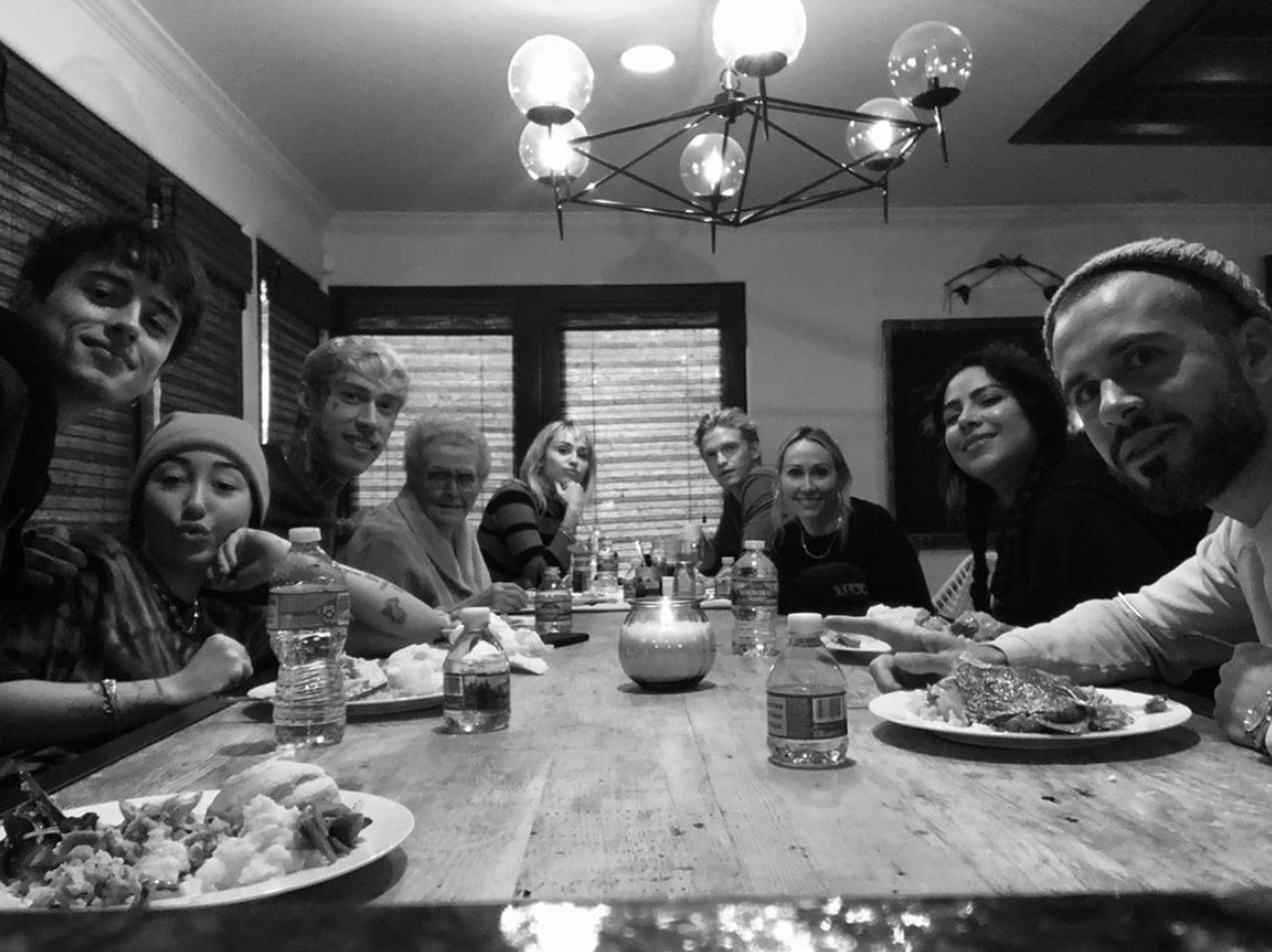 "The pair <a href=""https://people.com/music/miley-cyrus-cody-simpson-first-thanksgiving-together/"">spent Thanksgiving together</a> with Cyrus' family, celebrating the holiday <a href=""https://people.com/music/miley-cyrus-27th-birthday-with-cody-simpson-family-tributes/"">one week after Miley's 27th birthday</a>.   Simpson joined his girlfriend for dinner in Nashville, Tennessee to ring in her special day. As the event went on, a fan captured a photo of the pair pictured alongside friends and plenty of festive balloons that marked the occasion."