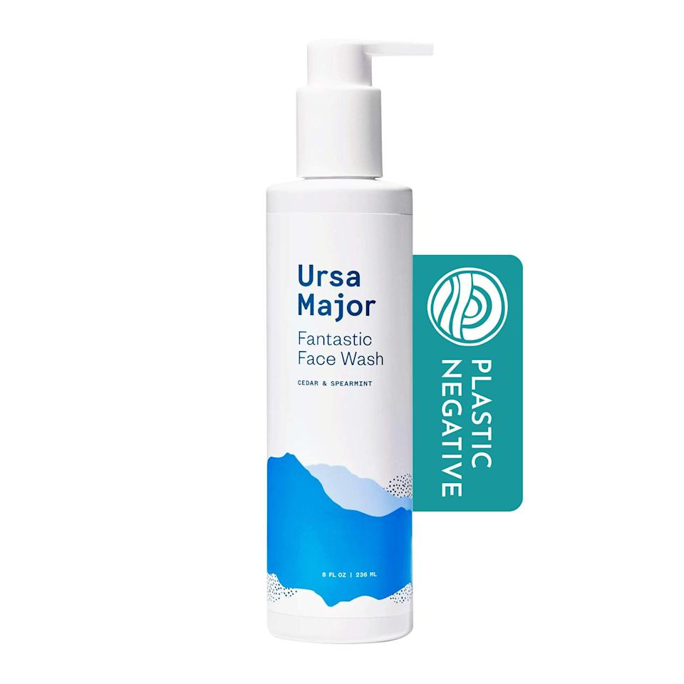 """<h2>Ursa Major<br></h2><br>Get 20% off all products<br><br><strong>Ursa Major</strong> Fantastic Face Wash, $, available at <a href=""""https://amzn.to/2TwJn4k"""" rel=""""nofollow noopener"""" target=""""_blank"""" data-ylk=""""slk:Amazon"""" class=""""link rapid-noclick-resp"""">Amazon</a>"""