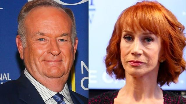 Kathy Griffin rejected an offer to appear on Bill O'Reilly's podcast in the most public way possible.