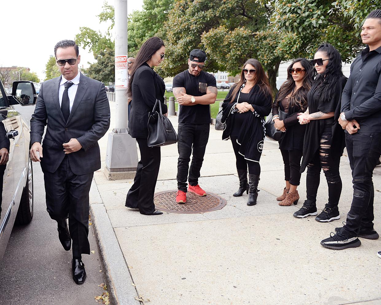 Mike Sorrentino Court Tax Evasion Sentencing Jersey Shore Cast