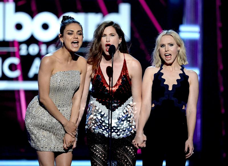 """The stars of """"A Bad Moms Christmas""""shared some funny parenting moments with Ellen DeGeneres."""