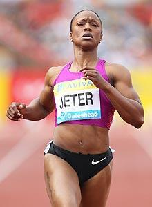 Only one woman has ever run the 100 meters faster than Carmelita Jeter, sister of Sacramento Kings rookie guard Pooh Jeter