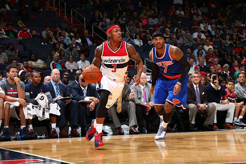 factory price 4a5a2 0678e Bradley Beal doesn't get why Carmelo Anthony made the All ...