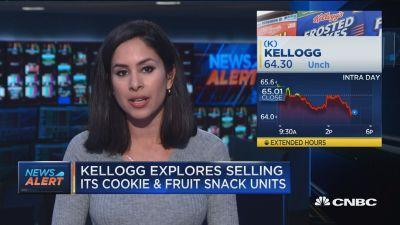 Kellogg nears deal to sell Keebler and Famous Amos business to Nutella owner Ferrero