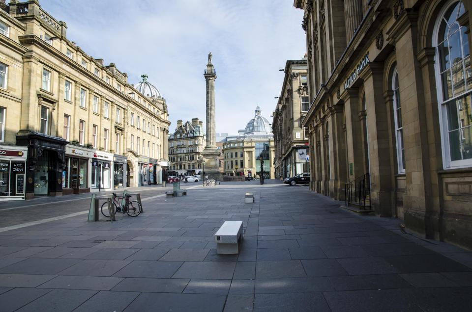 Grainger Town is the historic centre of Newcastle upon Tyne, England.