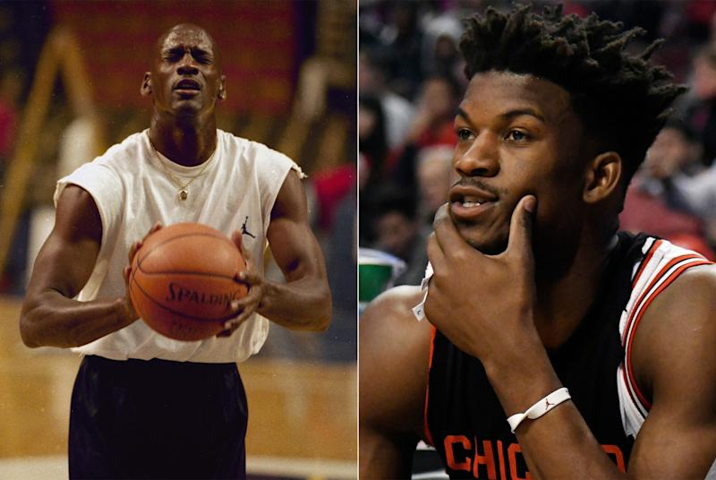 Jimmy Butler remembers, and ponders. (AP)