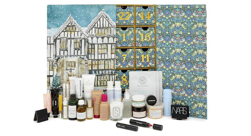Inside the £215 Liberty Beauty Advent Calendar 2019