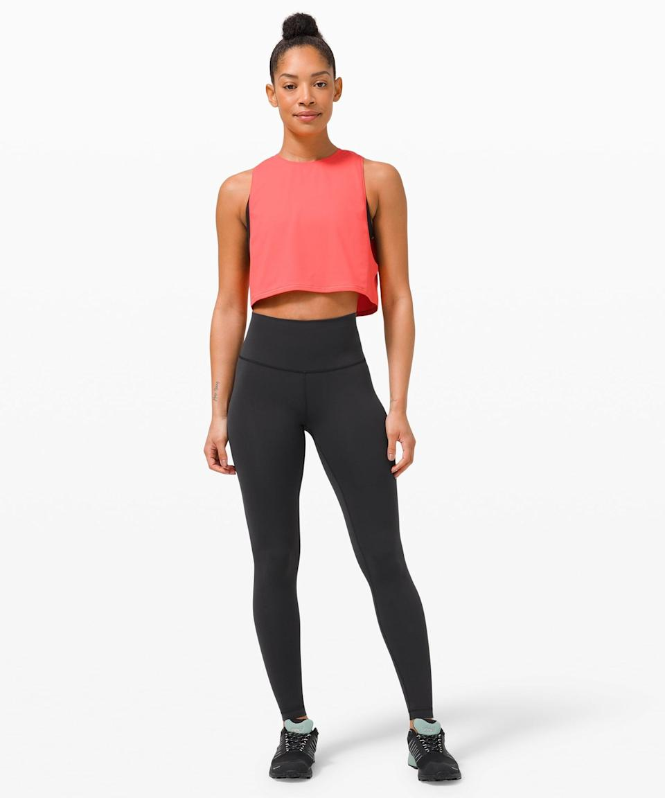 <p>If you're someone who loves the look of the Wunder Unders but finds them a little thick for running and other sweaty activities, may I introduce you to the <span>Lululemon Wunder Train High-Rise Tight</span> ($98)? It's made of Everlux, so it's lightweight and sweat-wicking. Perfect for any kind of training, whether it's weight lifting, boxing, or HIIT, these are the leggings you're always going to go back to. Don't say I didn't warn you.</p> <p><b>Why we love it:</b> These are the do-it-all pants you'll rely on for years to come.</p>