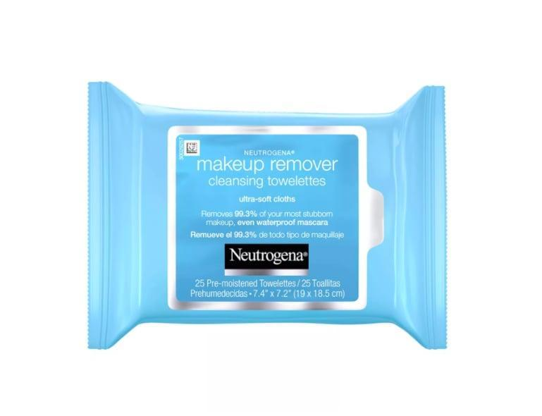 "<p>""I have a serious obsession with <a href=""https://www.popsugar.com/buy/Neutrogena-Makeup-Remover-Cleansing-Towelettes-547280?p_name=Neutrogena%20Makeup%20Remover%20Cleansing%20Towelettes&retailer=target.com&pid=547280&price=5&evar1=bella%3Auk&evar9=40920323&evar98=https%3A%2F%2Fwww.popsugar.com%2Fbeauty%2Fphoto-gallery%2F40920323%2Fimage%2F40920595%2FNeutrogena-Makeup-Remover-Cleansing-Towelettes&list1=hair%2Cmakeup%2Cbeauty%20products%2Ceditors%20pick%2Cbeauty%20shopping%2Cbeauty%20news%2Cdrugstore%20beauty%2Cskin%20care&prop13=api&pdata=1"" class=""link rapid-noclick-resp"" rel=""nofollow noopener"" target=""_blank"" data-ylk=""slk:Neutrogena Makeup Remover Cleansing Towelettes"">Neutrogena Makeup Remover Cleansing Towelettes</a> ($5). They take everything off at the end of the day, smell amazing, and are so soft and gentle on skin. I have never found a wipe like this that doesn't irritate or burn my skin while managing to take off even stubborn eye makeup. And even when I'm too lazy to wash my face at night, I never feel bad about it if I use one of these."" - Hannah Weil McKinley, content director, Shop and Fashion</p>"