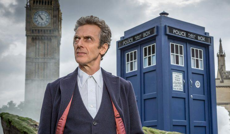 Peter Capaldi in Doctor Who - Credit: BBC