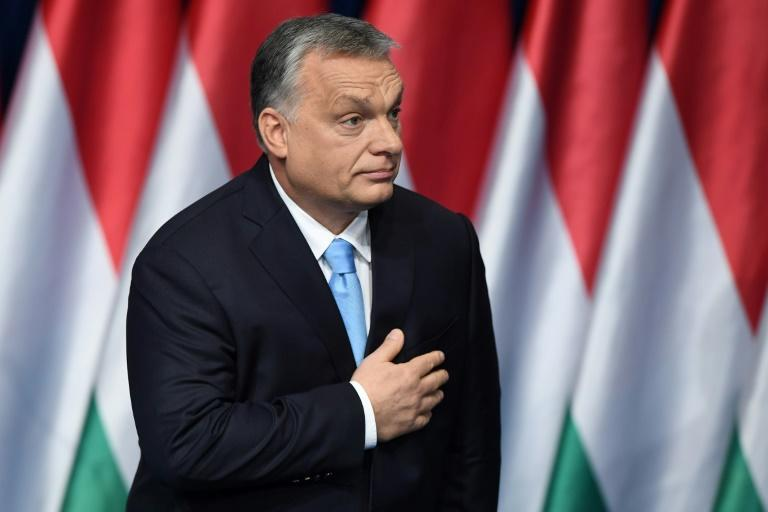 "Populist Hungarian Prime Minister Viktor Orban has apologised to his conservative European peers after he dubbed them ""useful idiots"" during a dispute over his anti-EU campaign"