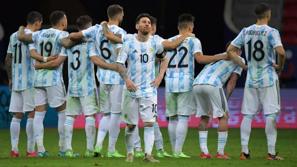 Argentina   NELSON ALMEIDA/Getty Images