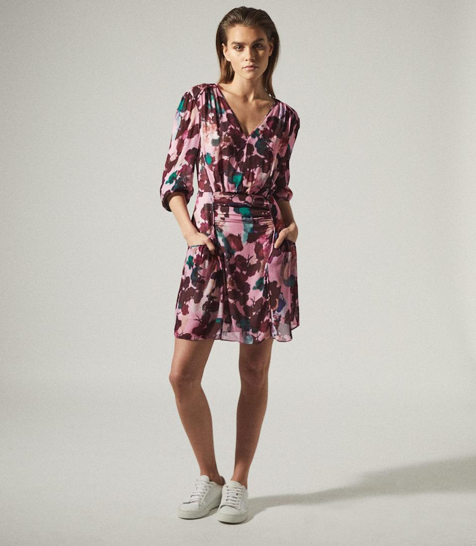 Josephine Floral Printed Mini Dress. Was $400, now $223