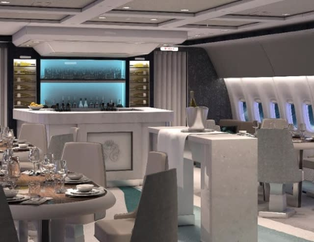 Is this the world's most luxurious passenger plane?