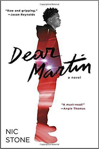 "<a href=""https://www.goodreads.com/book/show/24974996-dear-martin?from_search=true"" target=""_blank"">From Goodreads</a>: ""Justyce McAllister is top of his class and set for the Ivy League—but none of that matters to the police officer who just put him in handcuffs. And despite leaving his rough neighborhood behind, he can't escape the scorn of his former peers or the ridicule of his new classmates."" <a href=""https://www.amazon.com/Dear-Martin/dp/B074FDPXX3/ref=sr_1_1?s=books&ie=UTF8&qid=1509036635&sr=1-1&keywords=dear+martin+nic+stone"" target=""_blank"">Get it here</a>."