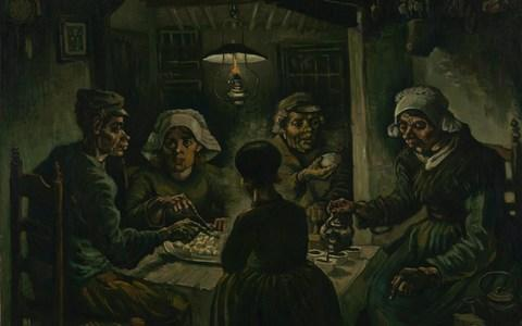 The Potato Eaters (1885), by Vincent Van Gogh - Credit: Van Gogh Museum, Amsterdam (Vincent van Gogh Foundation)