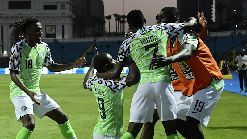 Afcon 2019: 'The Eagles are Super again!' - Twitter reacts to Nigeria's win over Cameroon