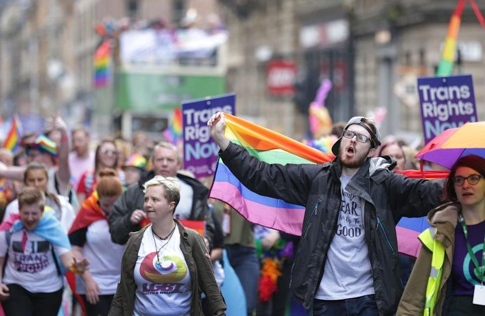 The march will head to George Square (David Cheskin/PA) (PA Archive)