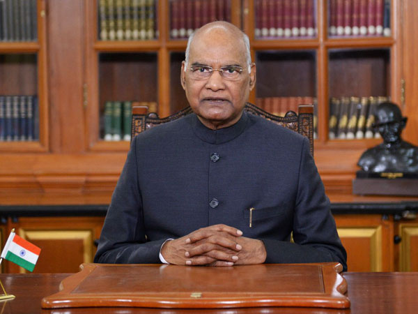 President of India Ram Nath Kovind (File Photo/ANI)