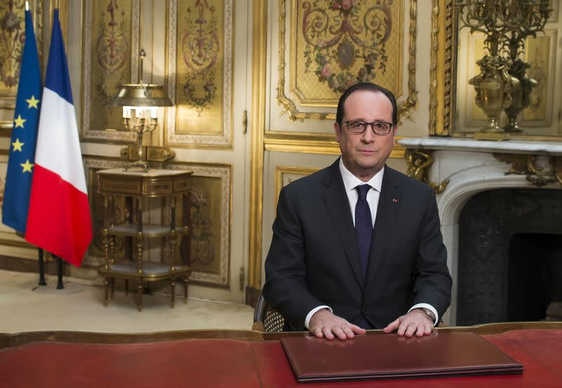 Francois Illas New Tradition: France's Hollande Says To Take 'any Risk' To Bolster Growth