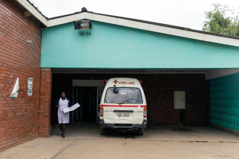 In the southern African country on its knees after two decades of economic misrule, health services are all but extinct