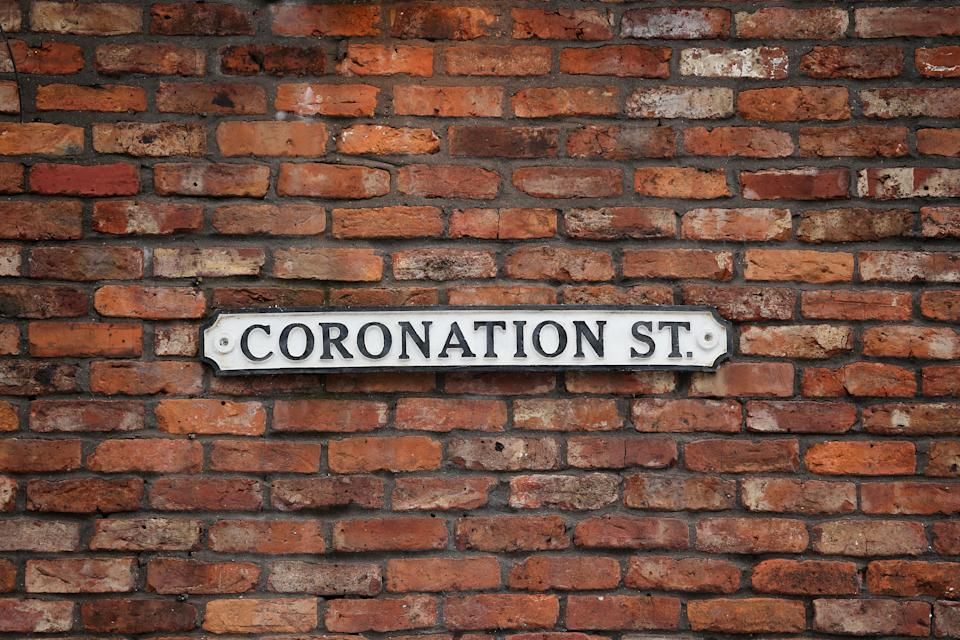 Coronation Street has stopped filming more episodes for the time being. (Photo by Christopher Furlong/Getty Images)