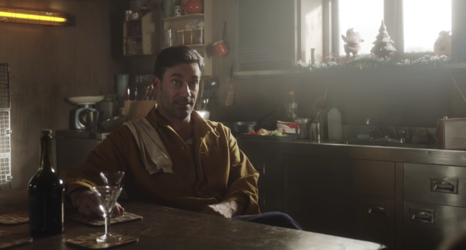 Jon Hamm starred in the Black Mirror Christmas special. (Netflix)