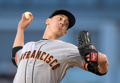 Tim Lincecum will pitch in front of scouts on Friday. (AP Photo)