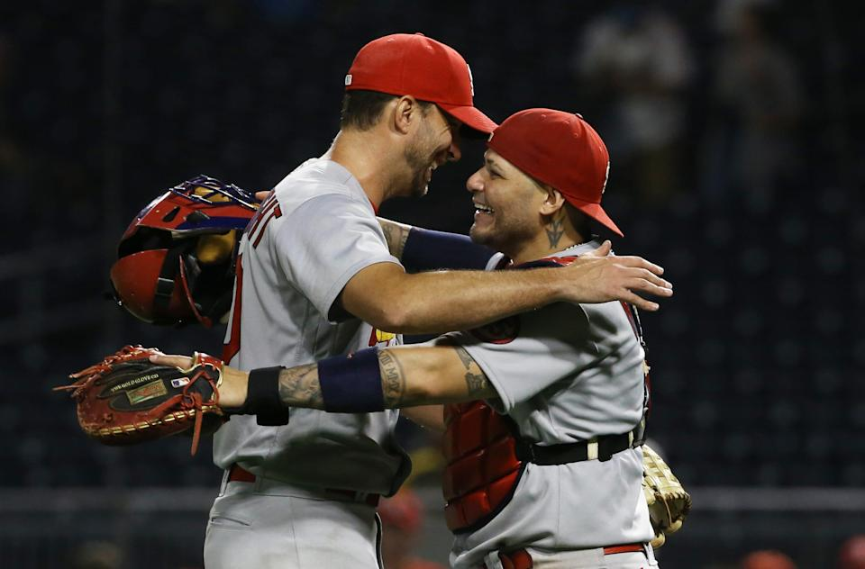 Molina and Adam Wainwright have played together since 2005.