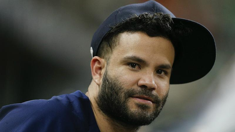 Astros' Second Baseman Jose Altuve Placed on Injured List With Hamstring Strain