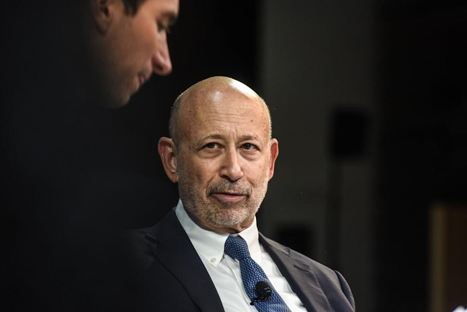 Goldman Sachs' former chairman and chief executive Lloyd Blankfein at The New York Times DealBook conference on November 1, 2018 in New York. Photo: Agence France-Presse