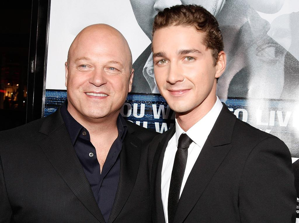 "<a href=""http://movies.yahoo.com/movie/contributor/1800025039"">Michael Chiklis</a> and <a href=""http://movies.yahoo.com/movie/contributor/1804503925"">Shia LaBeouf</a> at the Los Angeles premiere of <a href=""http://movies.yahoo.com/movie/1809955918/info"">Eagle Eye</a> - 09/16/2008"