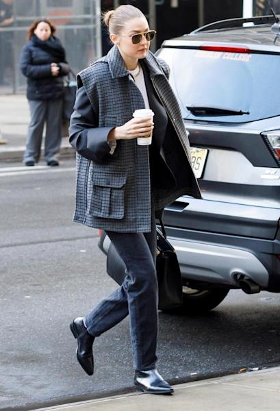 US model Gigi Hadid arrives to New York State Supreme Court to be vetted for the jury for the trial of former Hollywood producer Harvey Weinstein in his sexual assault trial in New York, New York, USA, 16 January 2020. Hadid was was not put on the jury for the trial, which is expected to last for about eight weeks and is based on sexual assault and rape allegations of two separate women. EFE/EPA/JUSTIN LANE