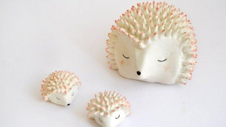 The most adorable of ceramic buddies.