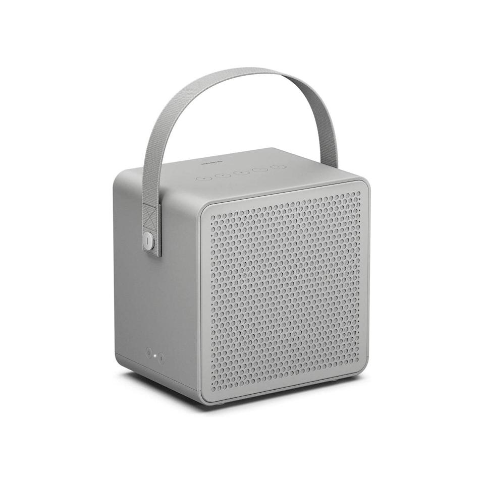 """The next time you want to gift a portable speaker, think big. The Ralis may not be superlight, but the sturdy handle makes it easy to transport from room to room. $200, Amazon. <a href=""""https://www.amazon.com/Urbanears-Ralis-Portable-Bluetooth-Speaker/dp/B07QP4W2XP/ref=sr_1_2?"""" rel=""""nofollow noopener"""" target=""""_blank"""" data-ylk=""""slk:Get it now!"""" class=""""link rapid-noclick-resp"""">Get it now!</a>"""