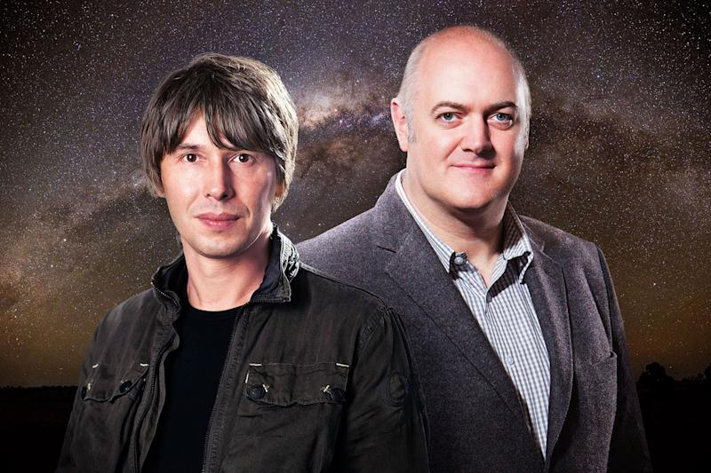 Down under: Brian Cox and Dara O Briain are in Australia for more Stargazing Live: BBC/Pete Dadds/Andrew Hayes Watkins/Andrew Walker