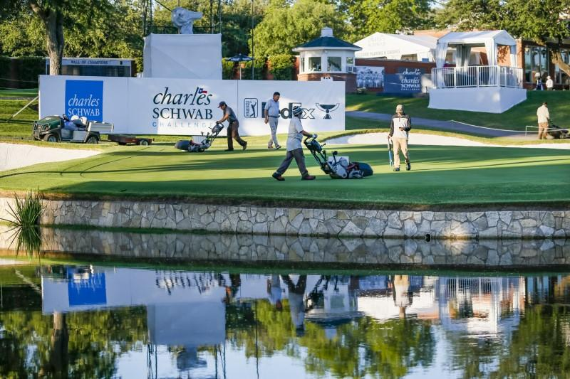 Golf - Players prepare for 'weird' atmosphere at fan free Colonial