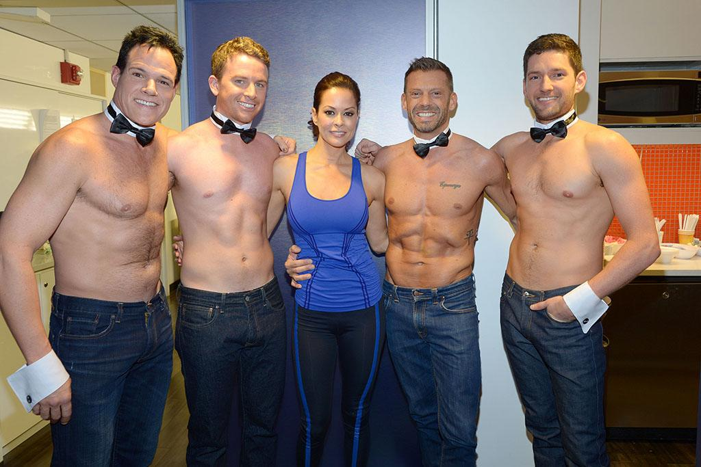 Exclusive, New York, NY 1/8/13- Brooke Burke Backstage at the TODAY Show