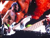 Flea, bassist, of Red Hot Chilli Peppers. (PHOTO: Yahoo Lifestyle Singapore)