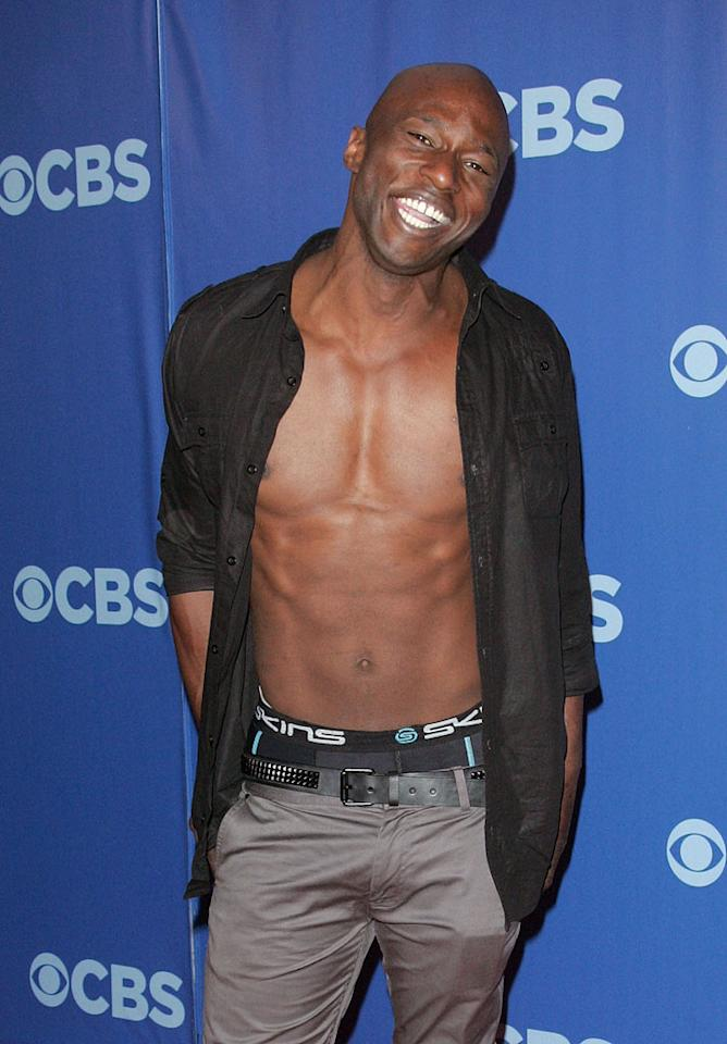 "<a href=""/james-clement/contributor/2354552"">James Clement</a> (""<a href=""/survivor-heroes-vs-villains/show/44431"">Survivor: Heroes vs. Villains</a>"") attends the 2010 CBS Upfront at The Tent at Lincoln Center on May 19, 2010 in New York City."