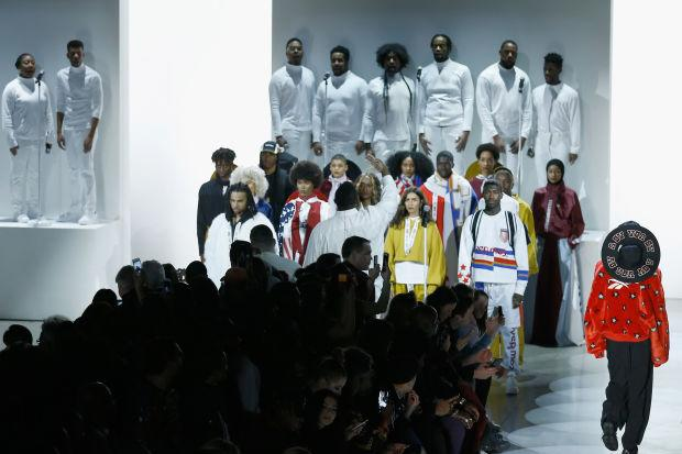 ee7682e34cef Pyer Moss Debuts Reebok Collaboration Collection at New York Fashion Week