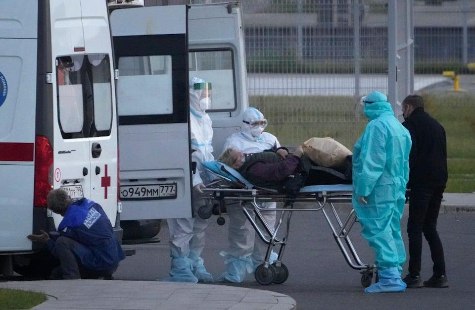 Virus Outbreak Russia (Copyright 2021 The Associated Press. All rights reserved.)