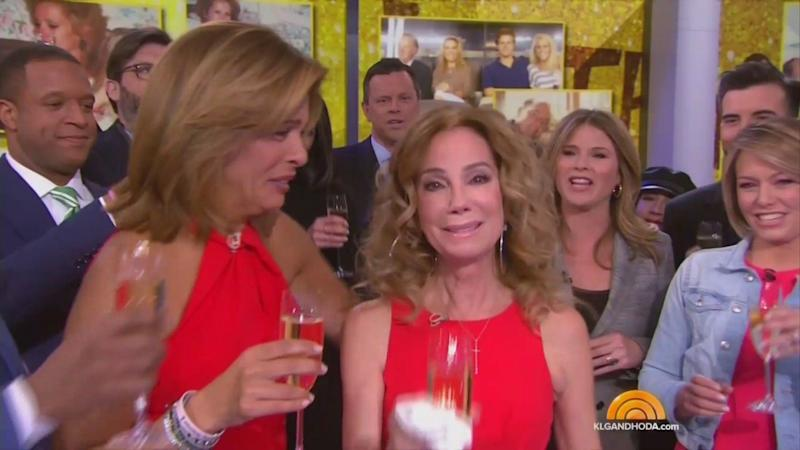 "Kathie Lee Gifford's final ""Today"" show appearance. (Photo: ""Today"" show)"