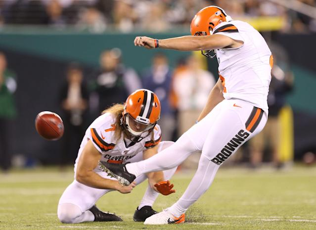 Browns punter Jamie Gillan keeps it simple in winning AFC Special Teams Player of the Week award