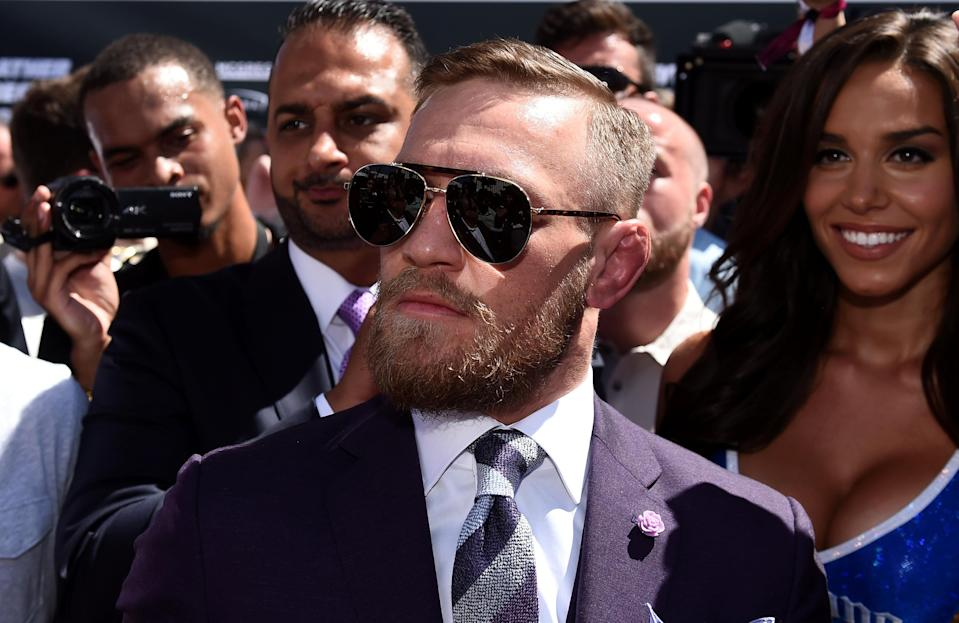 Conor McGregor would be welcomed back into the Octagon for UFC anytime if he wants to add to his bank account. (Getty)